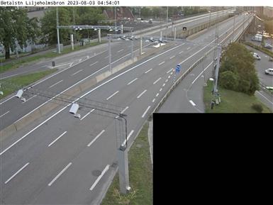 Trafikkamera - Liljeholmsbron