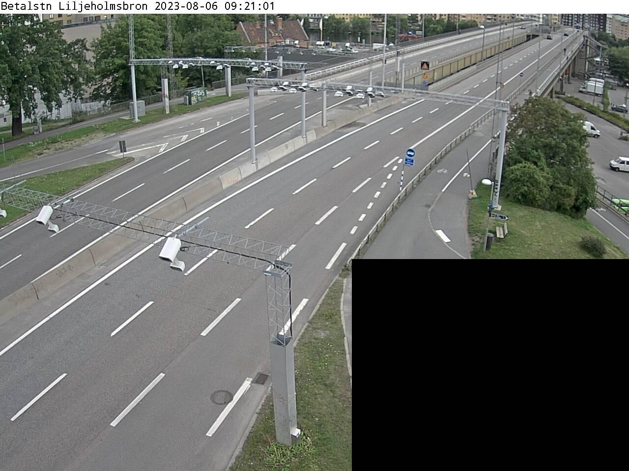 Trafikkamera - Liljeholmsbron, Södertäljevägen