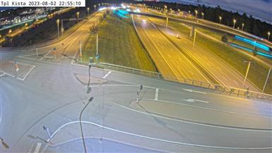 Trafikkamera - Trafikplats Kista