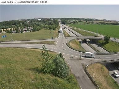 Trafikkamera - Lund E22