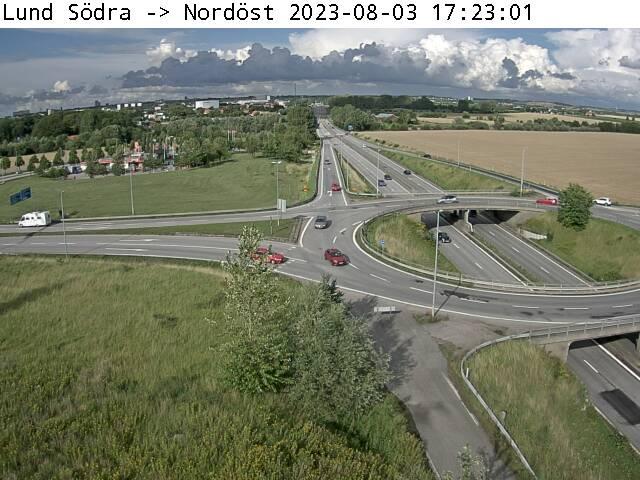 Trafikkamera - Lund Södra, nordöst