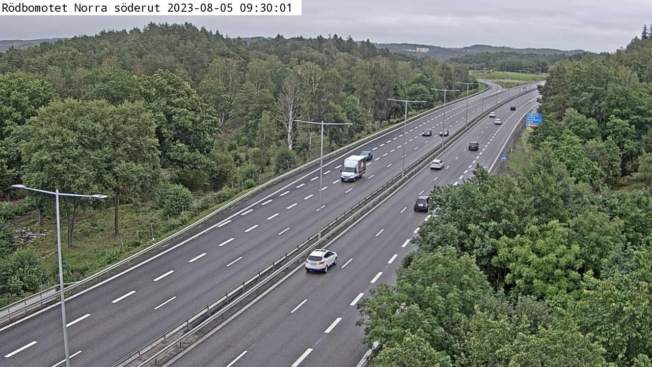 Trafikkamera – Kungälvbron Södra söderut