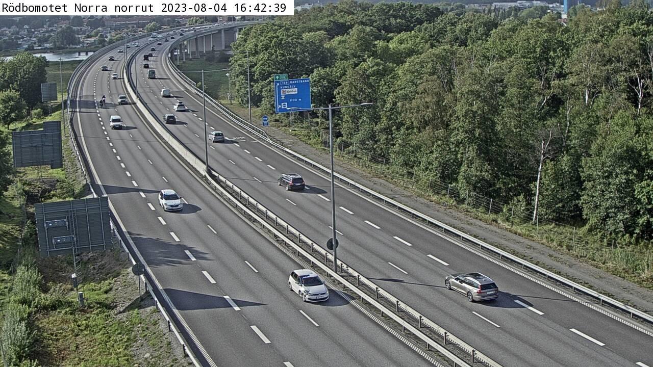 Trafikkamera – Kungälvsbron Södra norrut