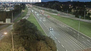 Trafikkamera - Göteborg E6 norr