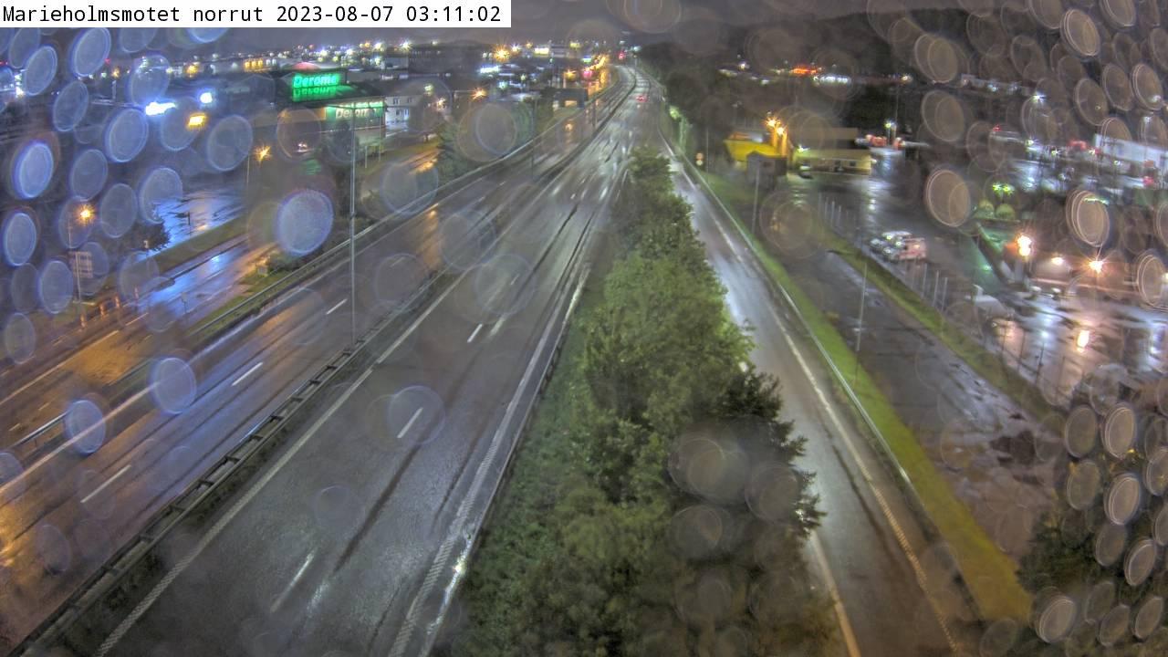 Trafikkamera – Marieholmsmotet norrut