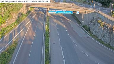 Webcam Bergshamra, Solna, Uppland, Schweden
