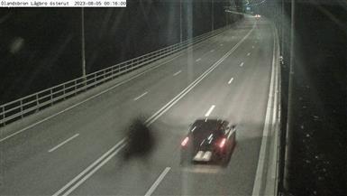 Trafikkamera - Ölandsbron, lågbrodelen, österut