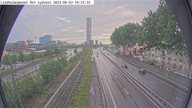 Trafikkamera - Traktören mot Brunnsparken.