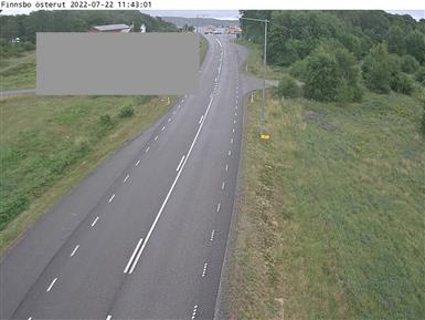 Trafikkamera - Finnsbo mot Färjeläget