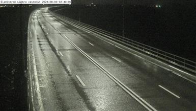 Ölandsbron Lågbro (V) mot Kalmar